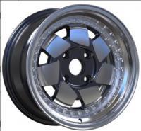 China customized 15 inch multi spoke rims 4 holes colorful car alloy wheels on sale