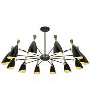 China Modern Art Deco Chandelier 12 LED Pendant Lamp Aluminum Materials on sale