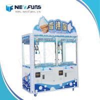 China 2015 Newest Ice Cream Claw Crane Machine NF-P33,Ice Cream Vending Machine,Indoor Amusement Game Machine on sale