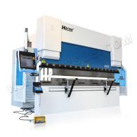 WE67K 100T/3200 Harsle brand CNC electric hydraulic customized metal sheet press brake with DA66T system