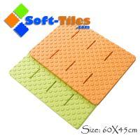 China EVA anti slip bath rugs non-toxic , anti-slip design without borders on sale