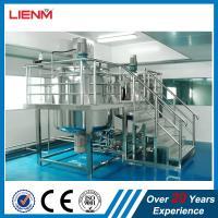 China Hot sale liquid soap mixing tank detergent making dishwashing liquid machine price  hand sanitizer making machine CE on sale