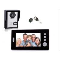 Buy cheap hotel bedspread Digital Wireless Video Door Phone, outdoor camera,  indoor monitor and wireless unlock control from Wholesalers