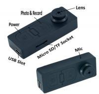 China Hidden Camera | Button Hidden Camera Mini Video Recorder DVR Camcorder DV Cam on sale
