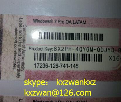license windows 7 oa