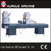 Buy cheap upvc window making machine / pvc double head cutting machine from Wholesalers