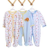 China Unisex Romper Newborn Baby Bodysuits 100% Cotton Baby Bubble Romper Infant Baby Romper on sale
