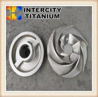 titanium pump impeller  titanium investment casting process in china