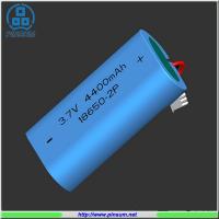 Buy cheap Li-ion battery 18650 3.7V 4400mAh for flashlight from Wholesalers