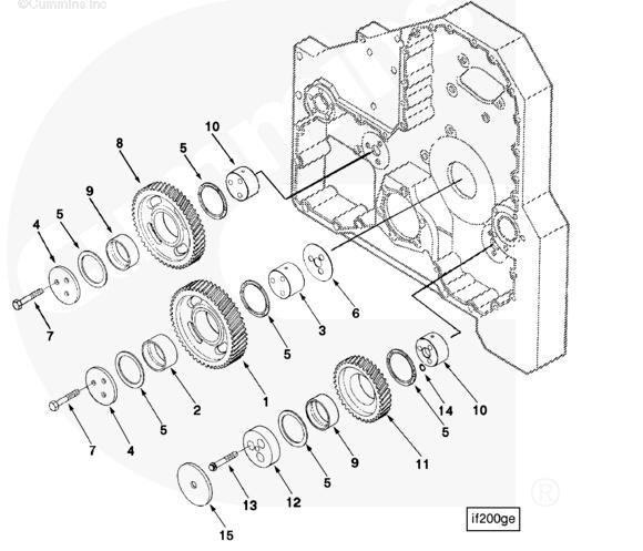 6 7 I6 Cummans Diesel Engine