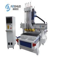 China Aoshuo 1325 Cnc Router Woodworking Machine , Wood Cnc Machine Multi Heads on sale