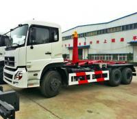 Buy cheap 10-18cbm China hook lift truck, China hook lifting garbage truck from Wholesalers