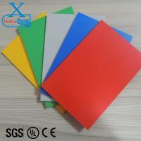 Buy cheap hotel bedspread color pvc foam board from Wholesalers
