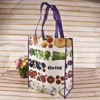 Decorative Pattern Gift Non Woven Shopping Bag Textured Tote Non Woven Cloth Bags