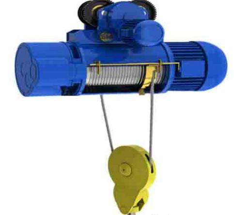 Single-Rail Crab Electric Wire Rope Hoist 220v - 440v For