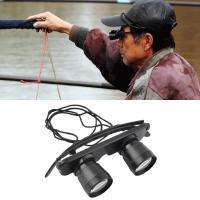 China High Powered Outdoor Fishing Binocular Glasses 3x28 Binocular Magnifying Glasses on sale