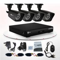 China Vandal Proof 24 LEDs IR CCTV Security Camera 8CH DVR Kit / Security Camera Kits on sale