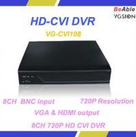 China 8CH BNC input VGA & HDMI output Support Mobile Surveillance 720P HD CVI DVR on sale