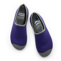 Buy cheap Heel Reinforced Winter Footwear For Ladies Durable Purple Lined Pattern from Wholesalers