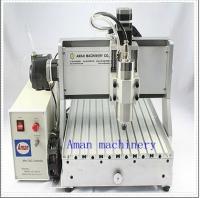 China cnc engraving machine mini cnc router machine with pcb smart mini desktop 3040 mach3 4 axis 3d wood carving cnc router m on sale