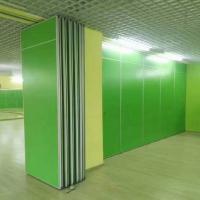China Classroom Sliding Partition Walls / Melamine board Aluminum Folding Door on sale