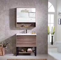 Buy cheap Custom Design Plywood Bathroom Vanity With Closet , 18 Inch 19 Inch Deep Bathroom Vanity from Wholesalers