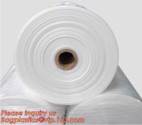 Buy cheap PVC heat shrink sleeve film, Food grade plastic film roll, Clear PVC shrink film in roll,POF Shrink Film Roll / Polyolef from Wholesalers