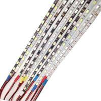 Buy cheap 5MM 5730 LED Strip Light 90CM 60LEDs SMD IP65 Waterproof 12V Black White PCB from Wholesalers