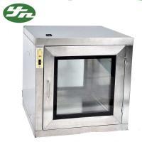 China Hospital Equipment Static Pass Box , Clean Room Pass Thru Box EVA Sealing Material on sale