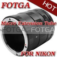 Buy cheap Fotga Macro Extension Tube Set for Nikon D200 D300 D700 D1 D90 D3100 Cameras or DC DV from Wholesalers