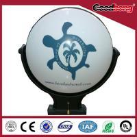 China Wall Hanging Light box, Rotating Round Light Box , Vaccum Forming Acrylic light box on sale