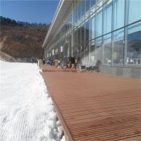 Buy cheap Outdoor solid WPC wood flooring deckings in ski resort (RMD-57) from Wholesalers