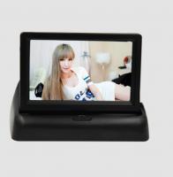 Buy cheap 3 Watt Digital Rearview Foldable Car Video Monitor 2 channels DC12V from Wholesalers