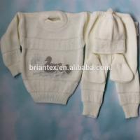 China 1 - 3 Years Cream Pink 3 Ply Baby Shawl PatternsSwaddle Baby Sweater Set / Shawl on sale