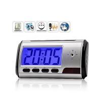 China Hot Sale Remote Controller Digital DVR Table Clock Hidden Camera YM-T004 on sale