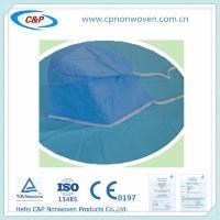 Buy cheap Disposable medical Surgical Bouffant Cap/Strip Cap/Nurse cap, Surgeon caps with tie from Wholesalers