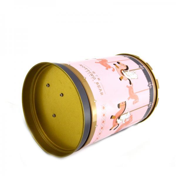 Buy Round Tin Custom Packaging Boxes Metal Gife Packaging