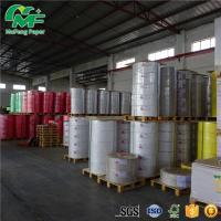 Buy cheap 65gsm 65gsm Thermal Paper Jumbo Rolls , Kraft Paper Jumbo Roll High Tightness Oem Printed from Wholesalers