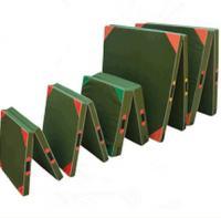 China 50cmx100cmx5cm  60cmx120cmx10cm PU+EVA Foam/ Oxford cloth Folding Gym Mat on sale