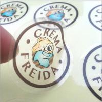 China adhesive sticker animal image waterproof label on sale