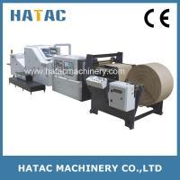 China KFC Paper Bag Making Machine,Shopping Paper Bag Making Machine,Handle Paper Bag Making Machine on sale
