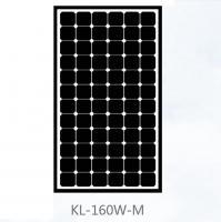 China Black Mono Mono Crystal Solar Panel 150W , Monocrystalline Solar Module For Farm on sale