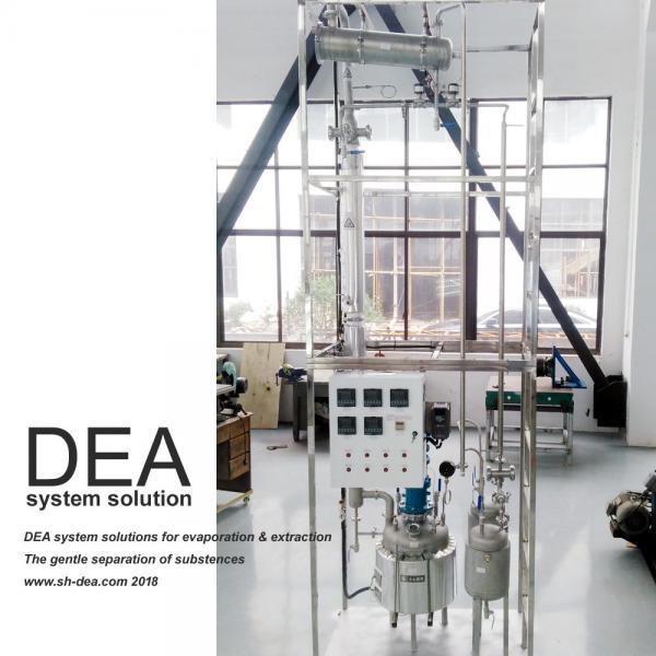 30L-50L Distillation Column For CBD THC Hemp Oil And Cannabissativa