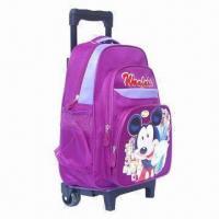 China Trolley school bag/wheeled backpacks/wheeled school bag on sale
