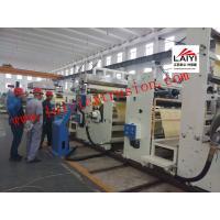 Plastic Pvc Film Adhesive Coating Machine , Sheet Extrusion Pe