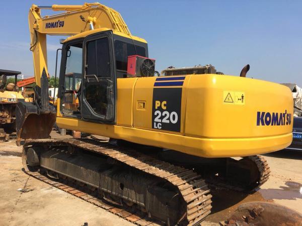 23100kg Second Hand Hitachi Excavator Komatsu Mini Excavator Pc220lc