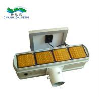 China LED solar strobe light traffic lights double side solar power strobe light on sale