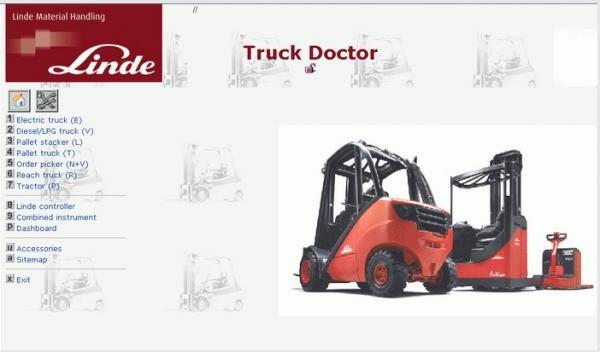 CF52 Laptop Linde Forklift Heavy Equipment Scan Tool Software Linde