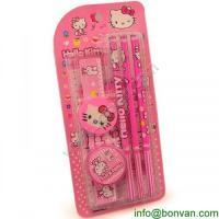 China HOT Sales funny drawing kids stationery set,Hello Kitty Stationery set on sale