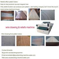 Buy cheap wood wire brush machine from Wholesalers